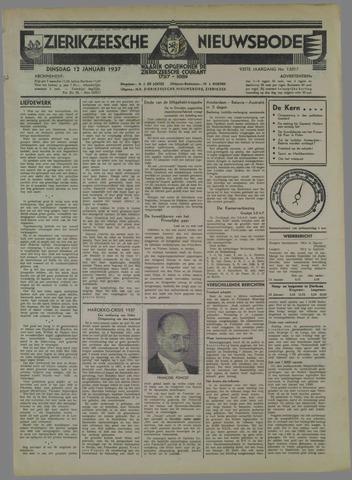 Zierikzeesche Nieuwsbode 1937-01-12