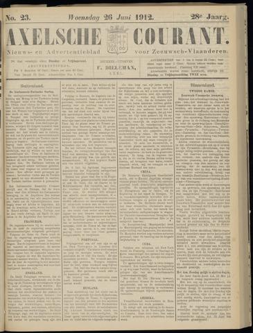 Axelsche Courant 1912-06-26