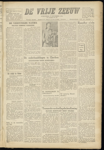 de Vrije Zeeuw 1946-11-13