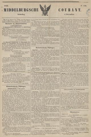 Middelburgsche Courant 1852-12-04