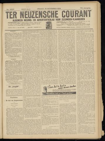 Ter Neuzensche Courant. Algemeen Nieuws- en Advertentieblad voor Zeeuwsch-Vlaanderen / Neuzensche Courant ... (idem) / (Algemeen) nieuws en advertentieblad voor Zeeuwsch-Vlaanderen 1934-11-16