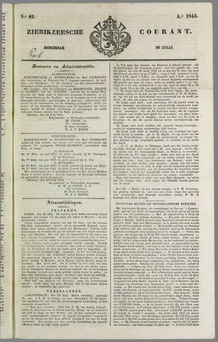 Zierikzeesche Courant 1844-07-30