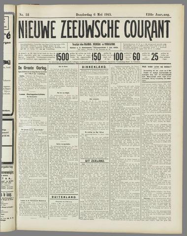 Nieuwe Zeeuwsche Courant 1915-05-06