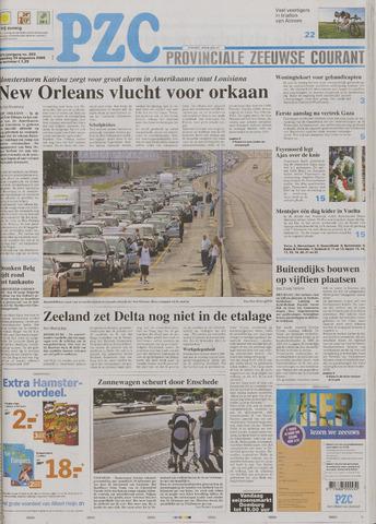 Provinciale Zeeuwse Courant 2005-08-29