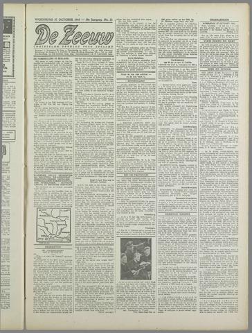 De Zeeuw. Christelijk-historisch nieuwsblad voor Zeeland 1943-10-27