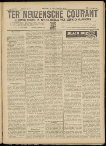 Ter Neuzensche Courant. Algemeen Nieuws- en Advertentieblad voor Zeeuwsch-Vlaanderen / Neuzensche Courant ... (idem) / (Algemeen) nieuws en advertentieblad voor Zeeuwsch-Vlaanderen 1935-11-08