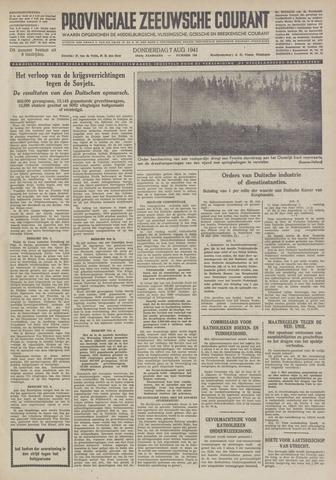 Provinciale Zeeuwse Courant 1941-08-07