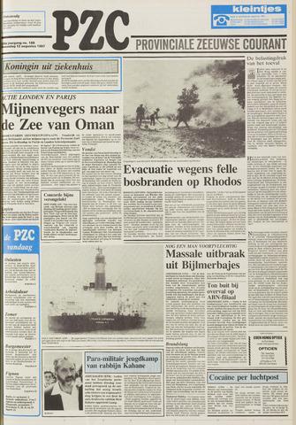 Provinciale Zeeuwse Courant 1987-08-12