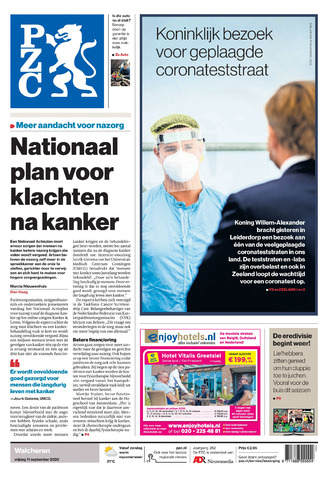 Provinciale Zeeuwse Courant 2020-09-11