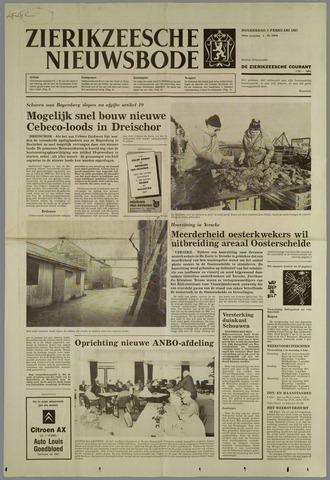 Zierikzeesche Nieuwsbode 1987-02-05