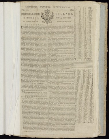 Middelburgsche Courant 1801-10-13