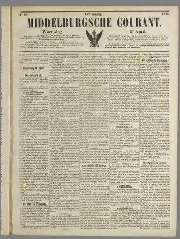 Middelburgsche Courant 1908-04-15