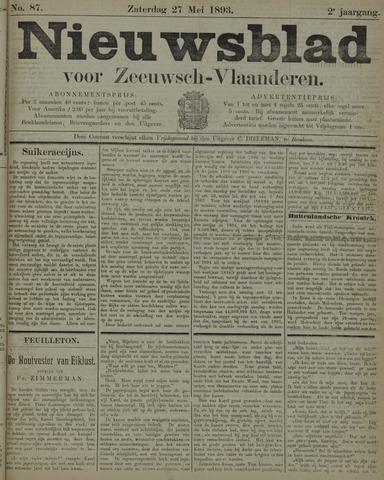 Nieuwsblad voor Zeeuwsch-Vlaanderen 1893-05-27