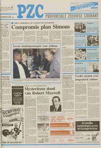 Provinciale Zeeuwse Courant 1991-11-06