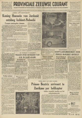 Provinciale Zeeuwse Courant 1957-04-11