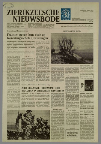 Zierikzeesche Nieuwsbode 1976-03-02