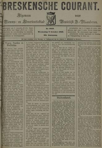 Breskensche Courant 1913-10-08