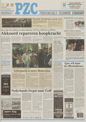 Provinciale Zeeuwse Courant 1998-02-14