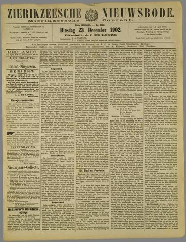 Zierikzeesche Nieuwsbode 1902-12-23