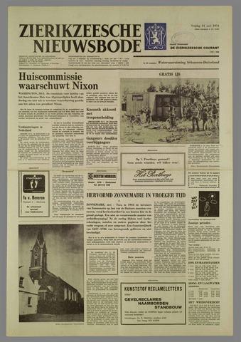 Zierikzeesche Nieuwsbode 1974-05-31