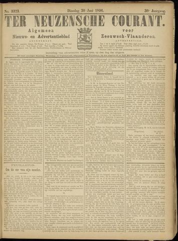 Ter Neuzensche Courant. Algemeen Nieuws- en Advertentieblad voor Zeeuwsch-Vlaanderen / Neuzensche Courant ... (idem) / (Algemeen) nieuws en advertentieblad voor Zeeuwsch-Vlaanderen 1896-06-30