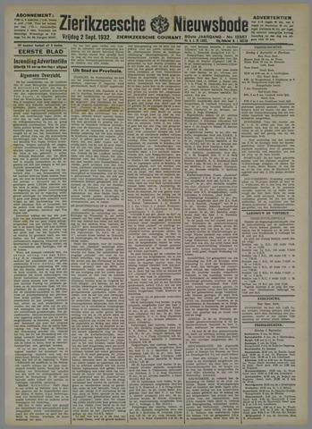 Zierikzeesche Nieuwsbode 1932-09-02