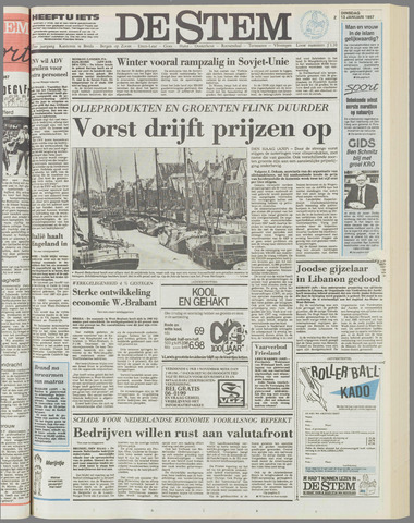 de Stem 1987-01-13