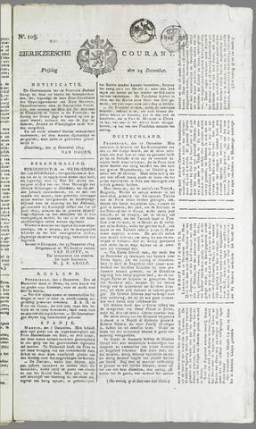 Zierikzeesche Courant 1824-12-24