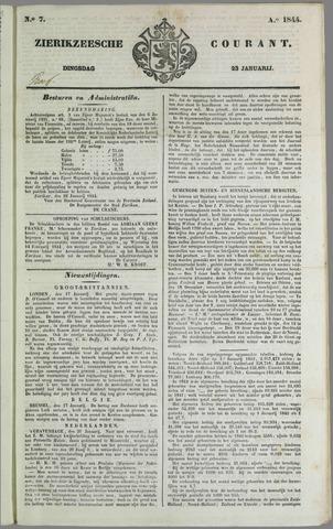 Zierikzeesche Courant 1844-01-23