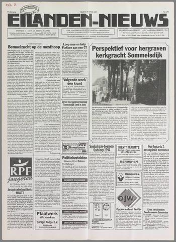 Eilanden-nieuws. Christelijk streekblad op gereformeerde grondslag 1995-04-14