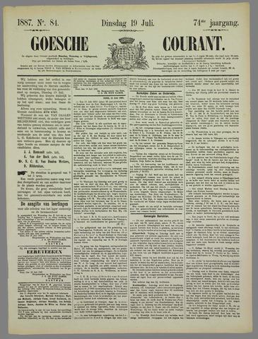 Goessche Courant 1887-07-19