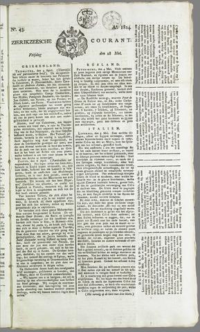 Zierikzeesche Courant 1824-05-28