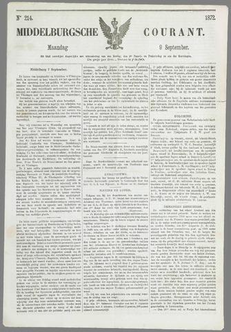 Middelburgsche Courant 1872-09-09