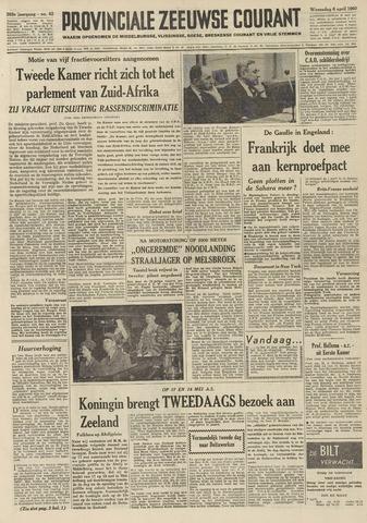 Provinciale Zeeuwse Courant 1960-04-06