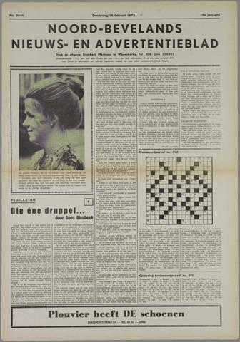Noord-Bevelands Nieuws- en advertentieblad 1973-02-15
