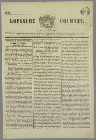 Goessche Courant 1851-05-12