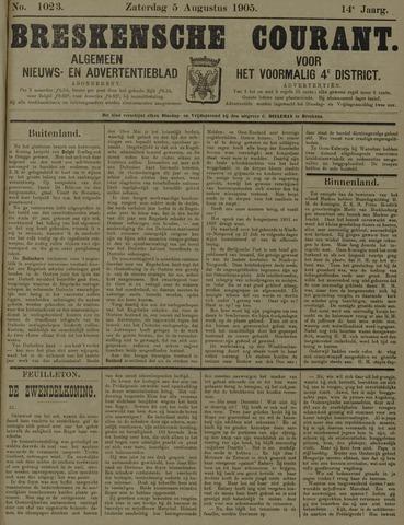 Breskensche Courant 1905-08-05