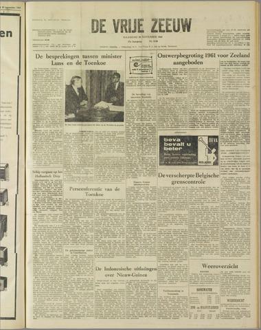 de Vrije Zeeuw 1960-11-28