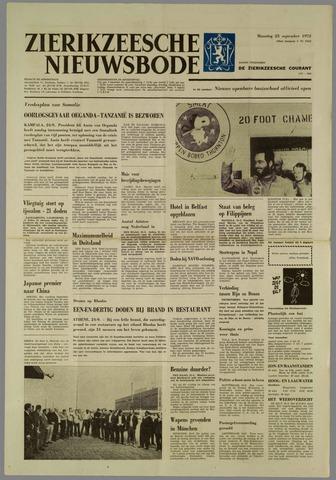 Zierikzeesche Nieuwsbode 1972-09-25
