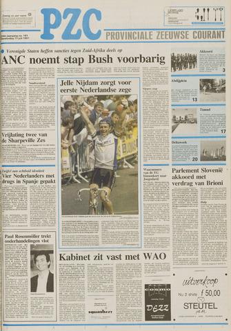 Provinciale Zeeuwse Courant 1991-07-11