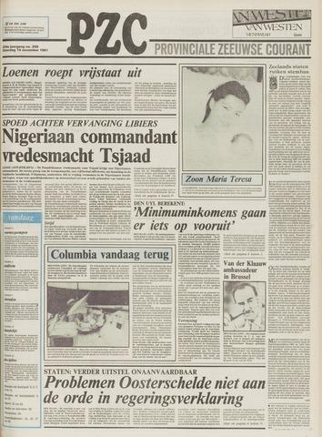 Provinciale Zeeuwse Courant 1981-11-14