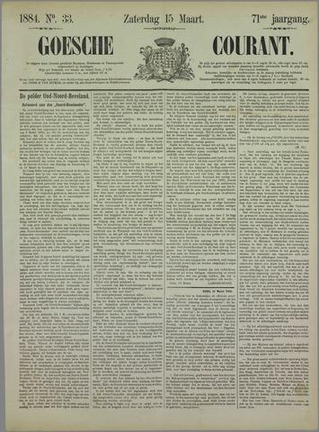 Goessche Courant 1884-03-15