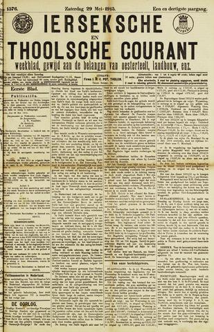 Ierseksche en Thoolsche Courant 1915-05-29