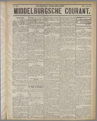 Middelburgsche Courant 1921-09-08