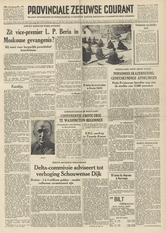 Provinciale Zeeuwse Courant 1953-07-11