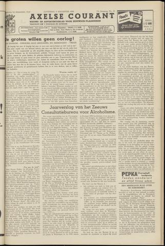 Axelsche Courant 1958-08-09