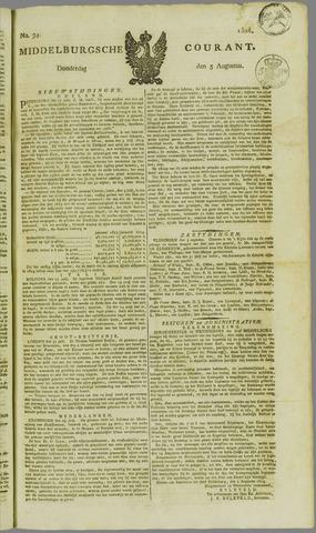 Middelburgsche Courant 1824-08-05