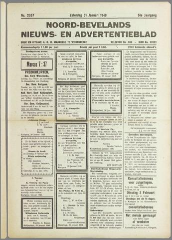 Noord-Bevelands Nieuws- en advertentieblad 1948-01-31