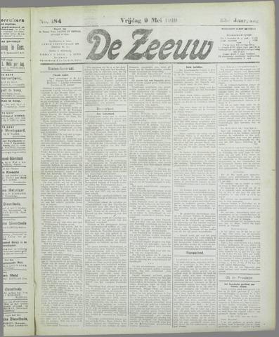 De Zeeuw. Christelijk-historisch nieuwsblad voor Zeeland 1919-05-09