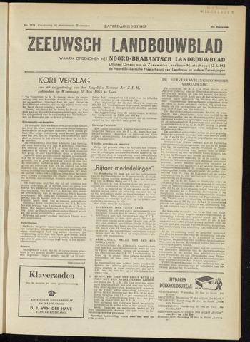 Zeeuwsch landbouwblad ... ZLM land- en tuinbouwblad 1955-05-21